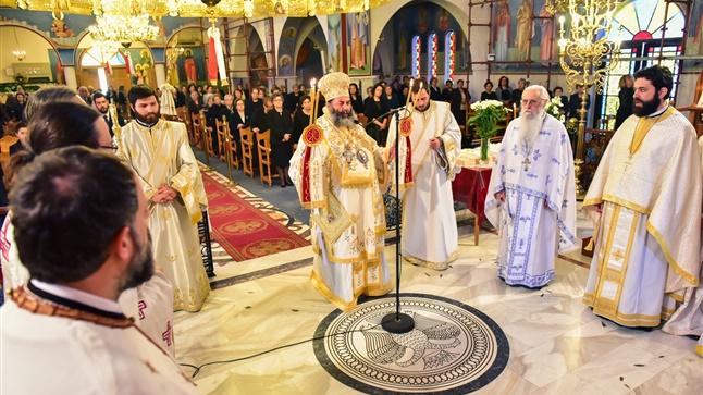 (Δελτίο Τύπου) Κυριακή των Μυροφόρων εις τον Ιερό Ναό των Αγ. Κωνσταντίνου και Ελένης - Ασσήρου