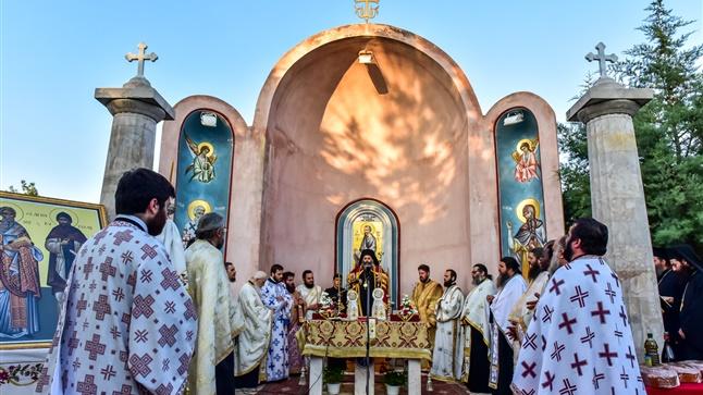 (Δελτίο Τύπου) Μεθέορτος Αρχιερατικός Εσπερινός εις το Ιερό Προσκύνημα του Αποστόλου Παύλου και των Αγ. Κυρίλλου και Μεθοδίου - Δερβενίου