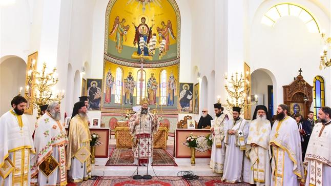 (Δελτίο Τύπου) Αρχιερατική Θεία Λειτουργία εις τον Ιερό ναό των Θεοφανίων - Λαγκαδά