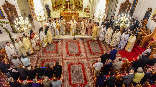 (Δελτίο Τύπου) Ιερά Αγρυπνία εις τον Ι.Ν. των Θεοφανίων του Τιμίου Προδρόμου και της Αγ. Αναστασίας - Λαγκαδά