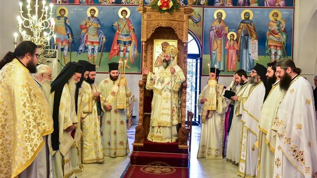 (Δελτίο Τύπου) Η εορτή των Αγίων Κωνσταντίνου και Ελένης εις την Ιερά Μητρόπολη Λαγκαδά, Λητής και Ρεντίνης