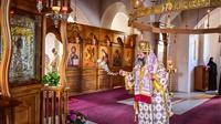 (Δελτίο Τύπου) Αρχιερατική Θεία Λειτουργία εις το Ιερό Ησυχαστήριο Άξιον Εστί - Μεσαίου