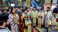 (Δελτίο Τύπου) Υποδοχή του θαυματουργού και Τιμίου Σταυρού εκ του Ιερού Ναού των Αγίων Ισιδώρων – Λυκαβηττού.