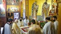 (Δελτίο Τύπου) Πανηγυρική Θεία Λειτουργία εις τον Ιερό ναό Κοιμήσεως της Θεοτόκου - Λαγκαδά