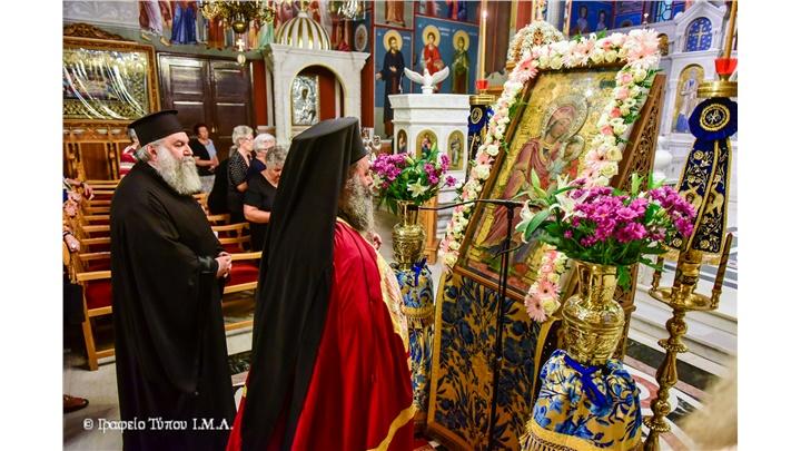 (Δελτίο Τύπου) Ιερά Παράκληση και Αγρυπνία εις τον Ιερό Μητροπολιτικό ναό Αγίας Παρασκευής - Λαγκαδά