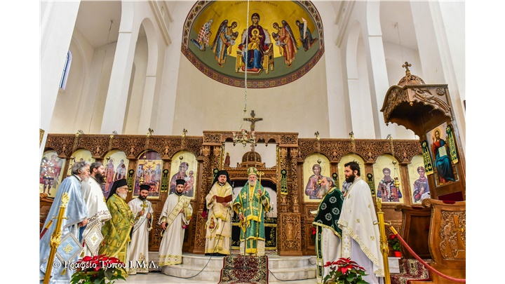 (Δελτίο Τύπου) Η Θεομητορική Εορτή των Εισοδίων της Παναγίας εις την Ι. Μητρόπολη Λαγκαδά