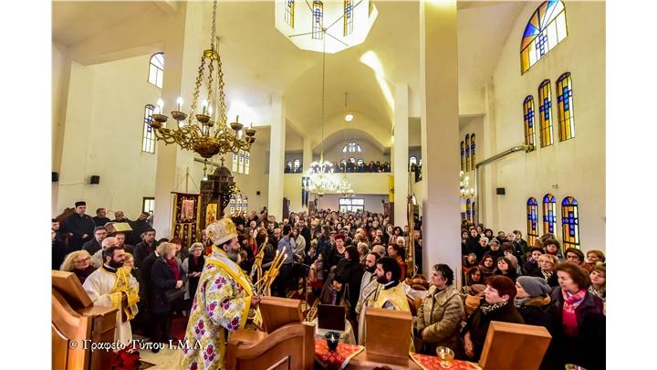 (Δελτίο Τύπου) Εόρτιες εκδηλώσεις επί τη εορτή του Αγίου Πορφυρίου του Καυσοκαλυβίτου εις Ηράκλειο - Λαγκαδά