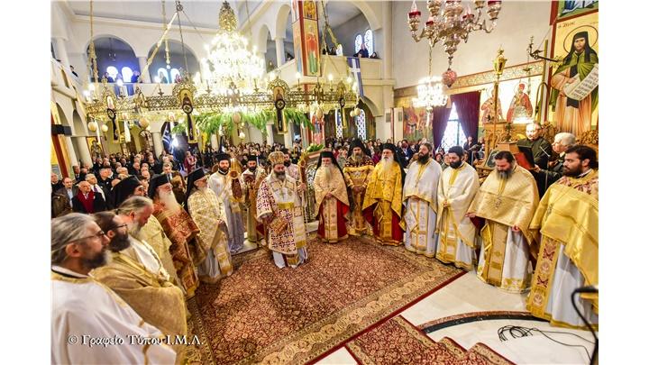 (Δελτίο Τύπου) Η Εορτή του Αγίου Νικολάου και Ιερατική Σύναξη Δεκεμβρίου