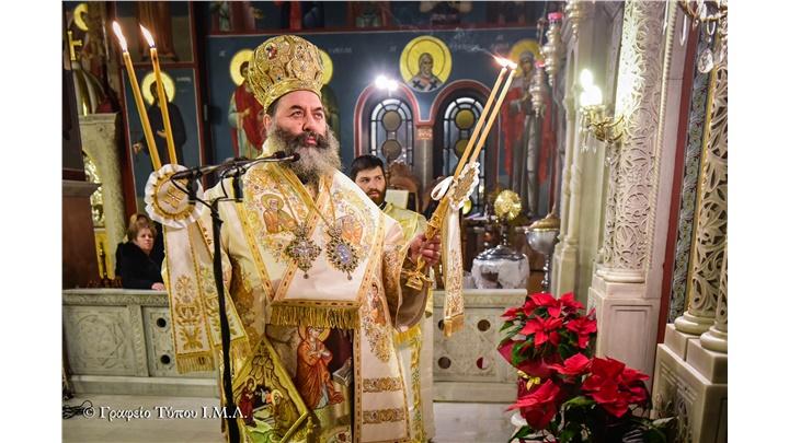 (Δελτίο Τύπου) Η εορτή της κατά Σάρκα Γεννήσεως του Κυρίου ημών Ιησού Χριστού εις την Ιερά Μητρόπολη Λαγκαδά