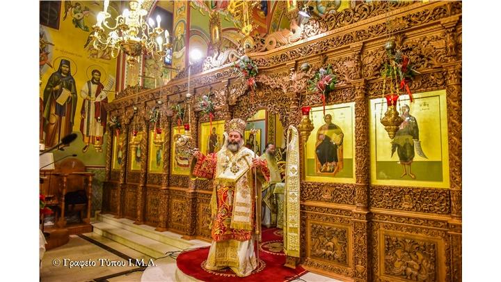 (Δελτίο Τύπου) Η εορτή της Συνάξεως της Υπεραγίας Θεοτόκου εις την Ιερά Μητρόπολη Λαγκαδά