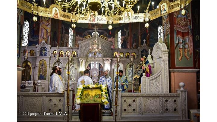 (Δελτίο Τύπου) Η ακολουθία των Μεγάλων και Βασιλικών Ωρών των Θεοφανείων εις την Ιερά Μητρόπολη Λαγκαδά