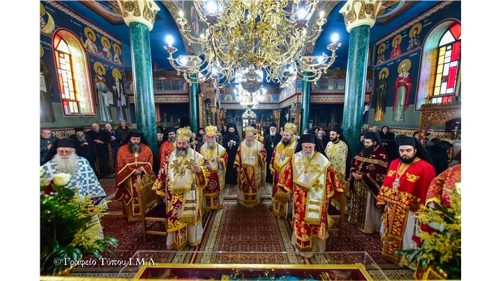 (Δελτίο Τύπου) Ολοκληρώθηκαν οι εόρτιες εκδηλώσεις επι τη Ιερά Μνήμη της Αγίας Μεγαλοπαρθενομάρτυρος Κυράννης της Οσσαίας