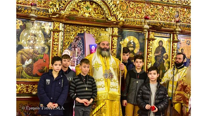 (Δελτίο Τύπου) Ιερά Μνήμη των Αγίων πατέρων Αθανασίου του Μεγάλου και Κυρίλλου Πατριαρχών Αλεξανδρείας