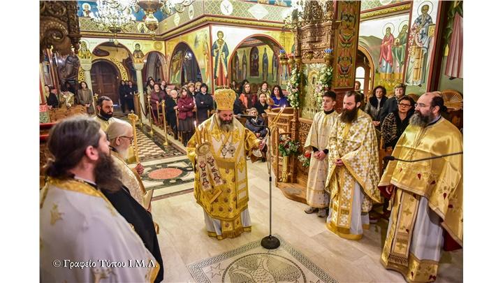 (Δελτίο Τύπου) Η εορτή της Υπαπαντής εις την Ιερά Μητρόπολη Λαγκαδά Λητής και Ρεντίνης