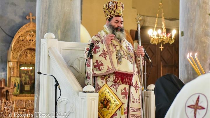 (Δελτίο Τύπου) Κυριακή Ε' των νηστειών εις τον Ι.Ν. Παναγίας της Αχειροποιήτου - Θεσσαλονίκης