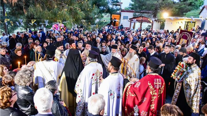 (Δελτίο Τύπου) Πανηγυρική Αρχιερατική Θεία Λειτουργία επί τη Ιερά Μνήμη του Αγίου Λαζάρου