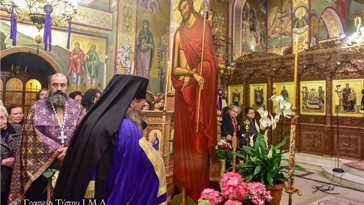 (Δελτίο Τύπου) Η ακολουθία του Νυμφίου (Όρθρος Μ. Τετάρτης), εις τον Ιερό ναό Κοιμήσεως της Θεοτόκου - Λαγκαδά