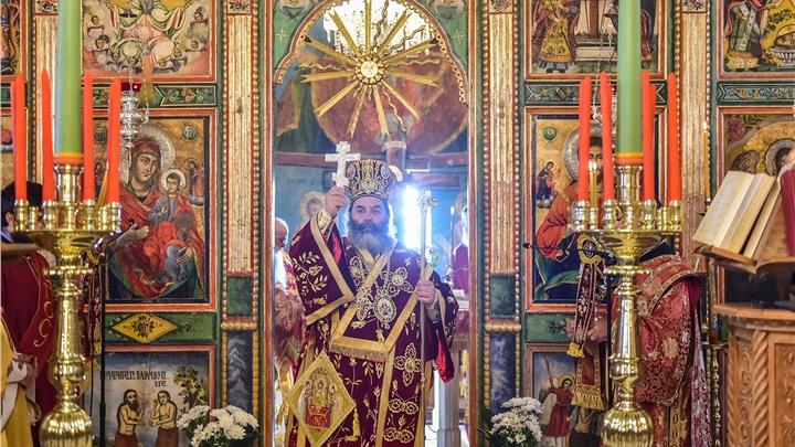 (Δελτίο Τύπου) Αρχιερατική Θεία Λειτουργία του Αγ. Βασιλείου, εις τον Ι.Ν. Αγίου Νικολάου - Λαγυνών