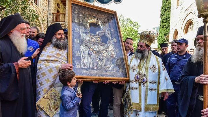 (Δελτίο Τύπου) Πανήγυρις εις την Ιερά Πατριαρχική και Σταυροπηγιακή Μονή των Ιβήρων - Αγίου Όρους