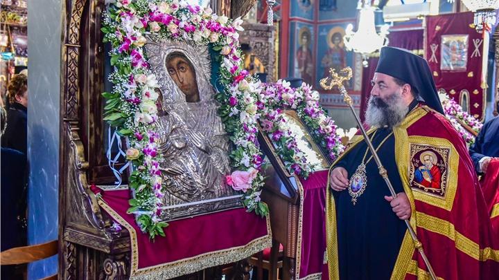 (Δελτίο Τύπου) Η Εορτή της Παναγίας της Ρευματοκρατούσης στην Γέφυρα Θεσσαλονίκης