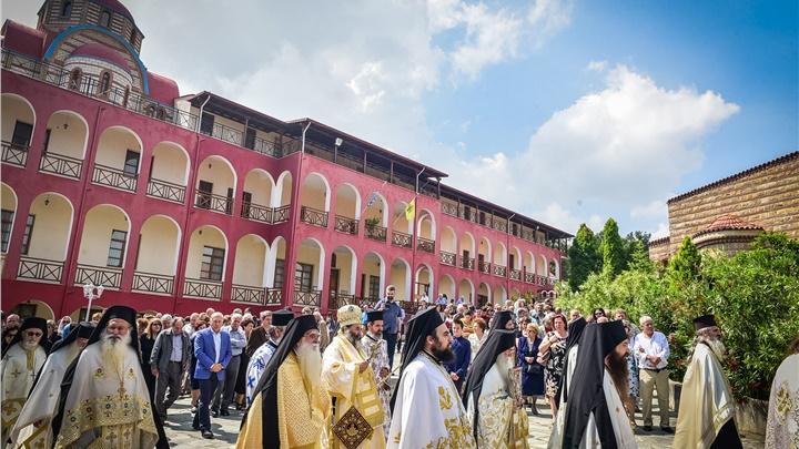(Δελτίο Τύπου) Η Δεσποτική εορτή της Αναλήψεως του Κυρίου, εις την Ιερά Μητρόπολη Λαγκαδά, Λητής και Ρεντίνης
