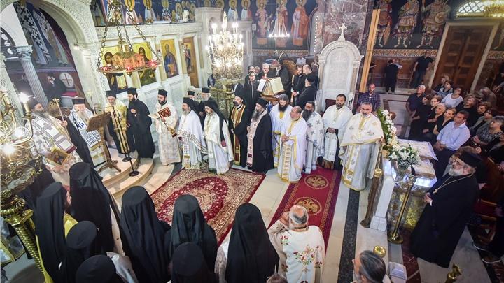 (Δελτίο Τύπου) Αρχιερατική Θεία Λειτουργία και μνημόσυνο εις τον Ι.Ν. Αγίου Θεράποντος, Θεσσαλονίκης