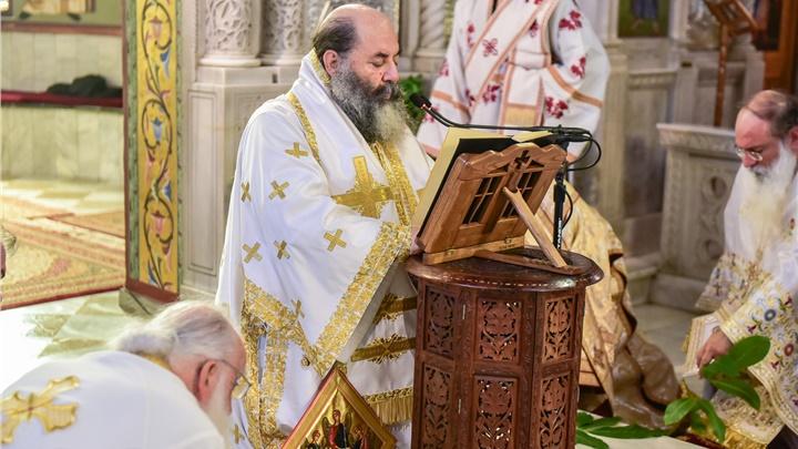 (Δελτίο Τύπου) Η μεγάλη Δεσποτική Εορτή της Πεντηκοστής εις την Ιερά Μητρόπολη Λαγκαδά, Λητής και Ρεντίνης