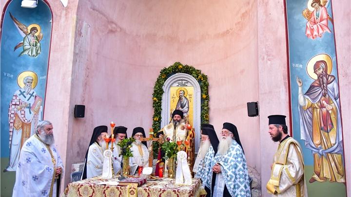 (Δελτίο Τύπου) Μεθέορτος Αρχιερατικός Εσπερινός εις το Ιερό Προσκήνυμα του Απ. Παύλου - Δερβενίου
