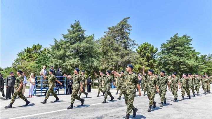 (Δελτίο Τύπου) Τελετής Ορκωμοσίας των Νεοσυλλέκτων Οπλιτών της 2019 Γ΄ ΕΣΣΟ