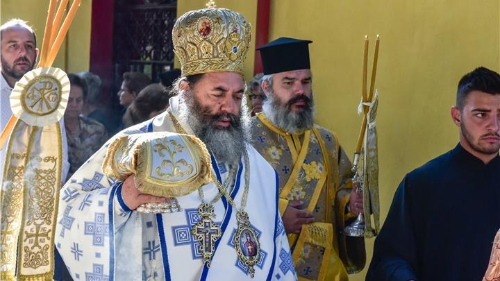 (Δελτίο Τύπου) Εγκαίνια του Ιερού Ναού Κοιμήσεως της Θεοτόκου Σοχού