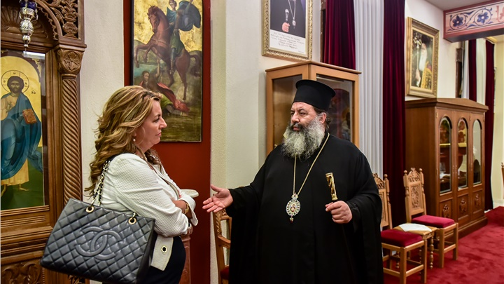 (Δελτίο Τύπου) Επίσκεψη της κα Μαρίας Αντωνίου, Επικεφαλής του Γραφείου του Πρωθυπουργού εις την Θεσσαλονίκη