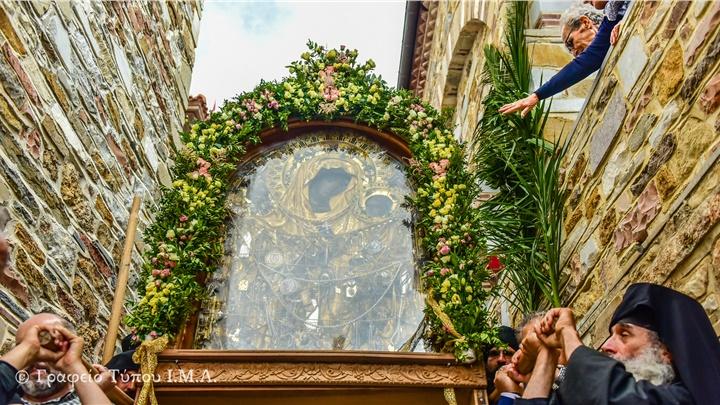 (Δελτίο Τύπου) Πανηγυρική Αρχιερατική Θεία Λειτουργία επί τη Εορτή του Γενεθλίου της Υπεραγίας Θεοτόκου, εις την Ιερά Μονή Θεοσκεπάστου Σοχού