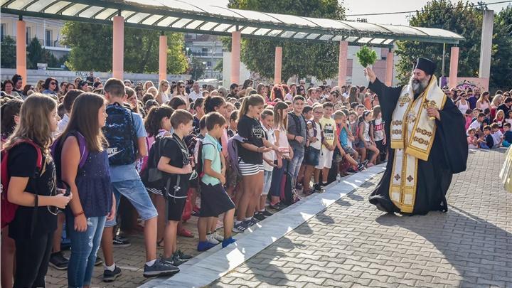 (Δελτίου Τύπου)Από τους Αγιασμούς σε Σχολεία και την επίσκεψη του νέου Διοικητή της 194MLRS