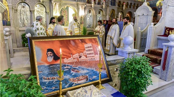 (Δελτίο Τύπου) Αρχιερατική Θεία Λειτουργία είς τον Ι. μητροπολιτικό ναό Αγίας Παρασκευής - Λαγκαδά