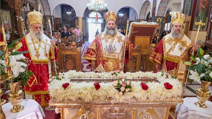 (Αναδημοσίευση) Λαμπρά εορτάστηκε η Αγία Ακυλίνα στη γενέτειρα της (ΦΩΤΟ)