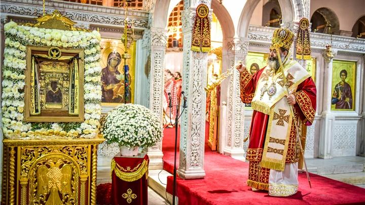 (Δελτίο Τύπου) Ιερά Αγρυπνία εις τον πάνσεπτο Ιερό ναό Αγίου Δημητρίου - Θεσσαλονίκης