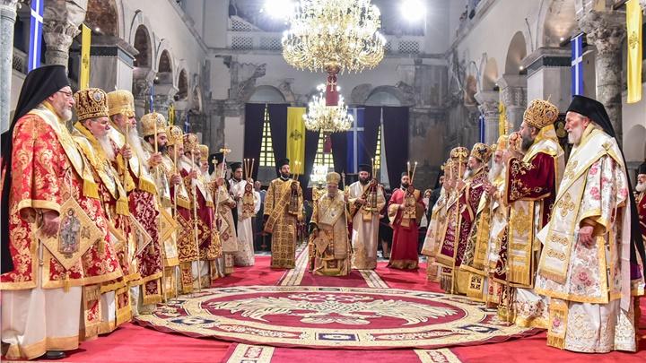 (Δελτίο Τύπου) Πανηγυρική πολυαρχιερατική θεία λειτουργία επί τη Ιερά Μνήμη του Αγίου Δημητρίου πολιούχου της πόλεως Θεσσαλονίκης