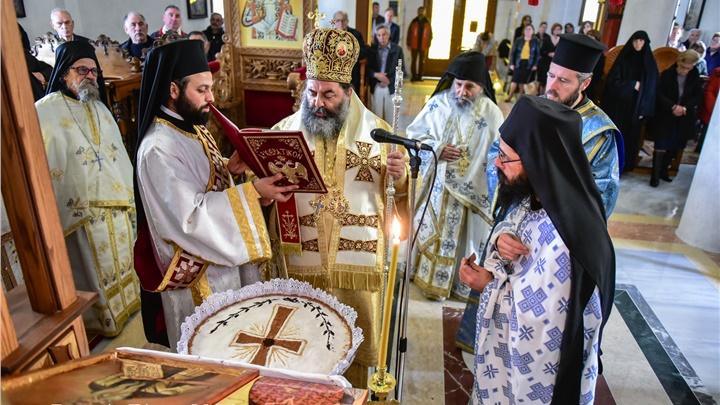 (Δελτίο Τύπου) Αρχιερατική Θεία Λειτουργία είς την Ιερά Μονή Μεταμορφώσεως του Σωτήρος - Σοχού