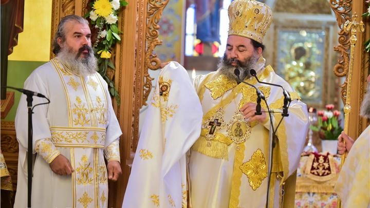 (Δελτίο Τύπου) Αρχιερατική Θεία Λειτουργία και χειροτονια εις τον Ι.Ν. Αγ. Κωνσταντίνου και Ελένης - Ασσήρου
