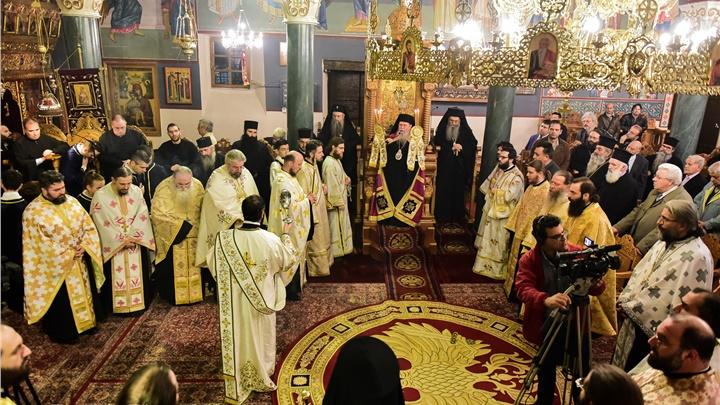 (Δελτίο Τύπου) Πανηγυρικό Αρχιερατικό Εσπερινό και το Ζ΄ Θεολογικό Συμπόσιο επ΄ ευκαρία της εορτής του Αγίου Δαμασκηνού του Στουδίτου, Επισκόπου Λητής και Ρεντίνης