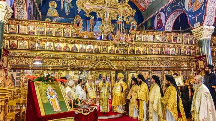 (Δελτίο Τύπου) Πανηγυρικό Αρχιερατικό Συλλείτουργο επί τη Ιερά Μνήμη του Αγίου Δαμασκηνού επισκόπου Λητής και Ρεντίνης