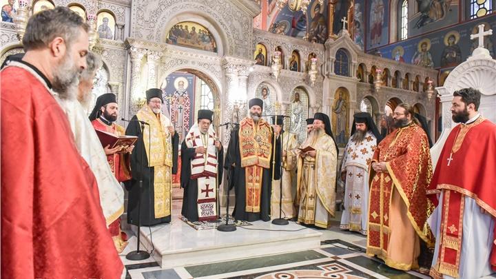 (Δελτίο Τύπου) Δεκαετές Ιερό Μνημόσυνο του μακαριστού Μητροπολίτου Λαγκαδά κυρού Σπυρίδωνος και την Επίσημο Δοξολογία επί τη Εορτή του Πυροβολικού Σώματος