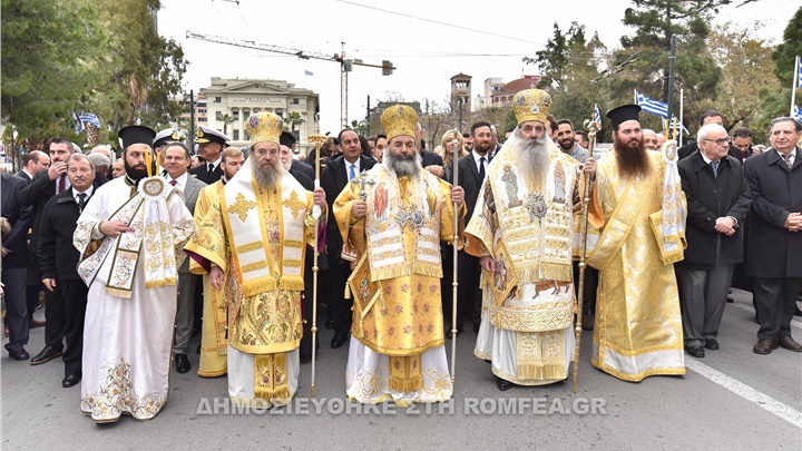 (Αναδημοσίευση) Τον Πολιούχο του Άγιο Σπυρίδωνα τίμησε ο Πειραιάς (ΦΩΤΟ)