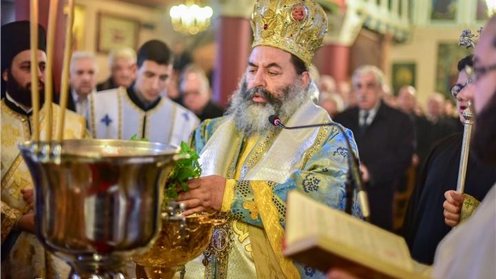 (Δελτίο Τύπου) Αρχιερατική Θεία Λειτουργία εις τον Ιερό ναό Αγ. Γεωργίου - Σοχού