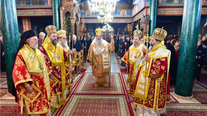 (Δελτίο Τύπου) Πανηγυρικό Αρχιερατικό Συλλείτουργο επί τη Ιερά Μνήμη της Αγίας Νεομάρτυρός Κυράννης της Οσσαίας