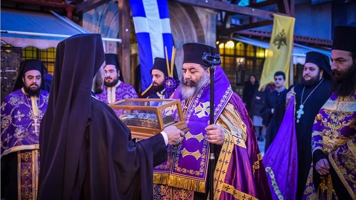 (Δελτίο Τύπου) Υποδοχή της δεξιάς Χείρας του Αγίου Νεκταρίου Επισκόπου Πενταπόλεως του θαυματουργού