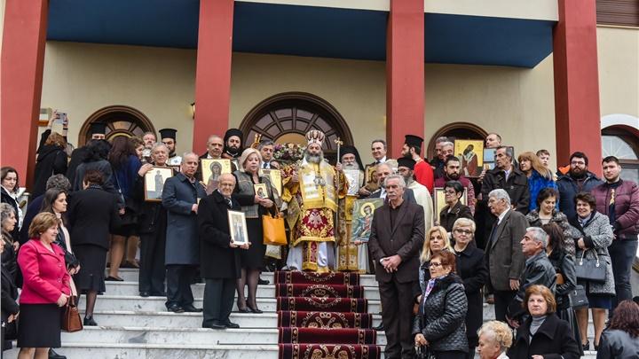 (Δελτίο Τύπου) Κυριακή της Ορθοδοξίας εις τον Ιερό Μητροπολιτικό ναό Αγ. Παρασκευής - Λαγκαδά