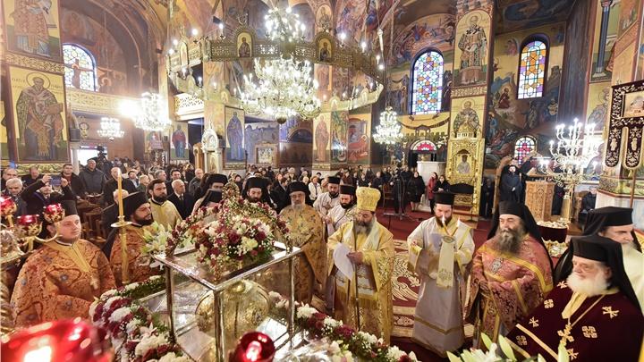 (Δελτίο Τύπου) Ιερά Πανήγυρις του Αγίου Γρηγορίου Παλαμά Αρχιεπισκόπου Θεσσαλονικης
