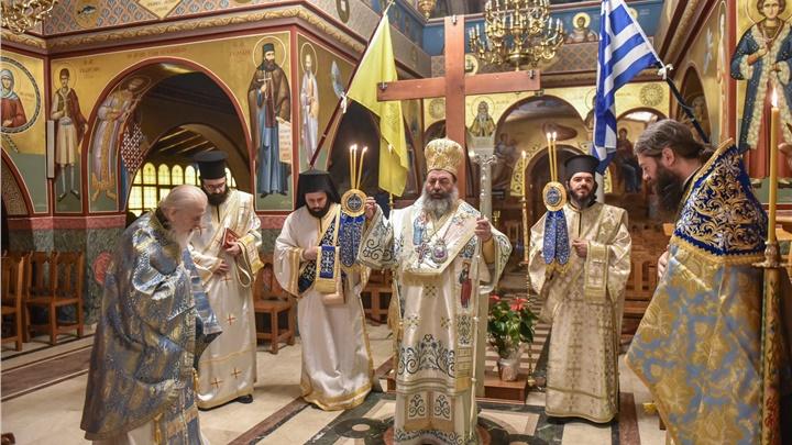 (Δελτίο Τύπου) Πανηγυρική Αρχιερατική Θεία Λειτουργία επί τη εορτή του Ευαγγελισμού της Υπεραγίας Θεοτόκου