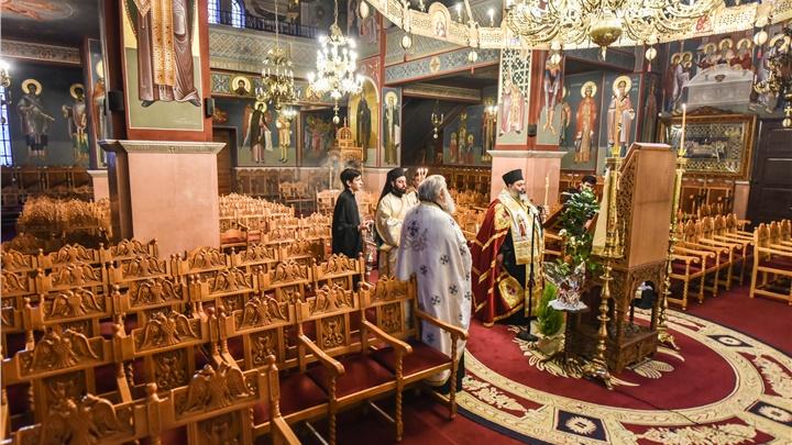 (Δελτίο Τύπου) Η ακολουθία του Ακαθίστου Ύμνου εις την Ιερά Μητρόπολη Λαγκαδά, Λητής και Ρεντίνης